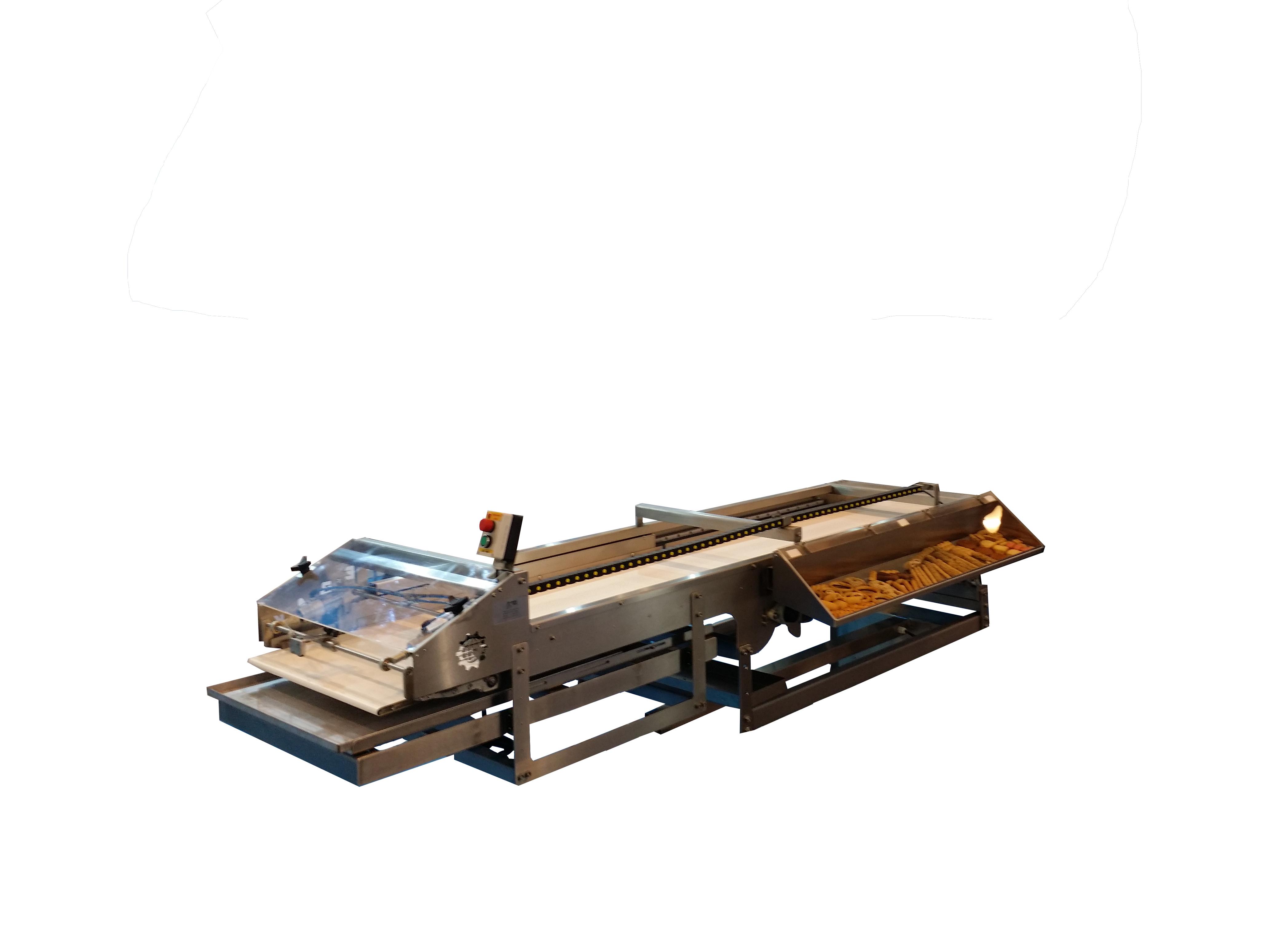 Автоматичесская машина с электронным управлением для укладки тестовых заготовок